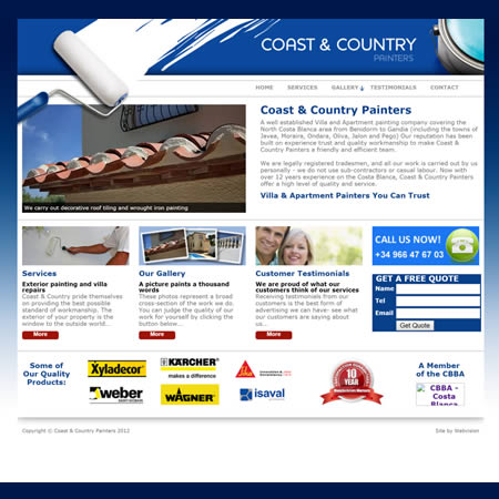 Coast & Country Painters Costa Blanca Alicante Spain