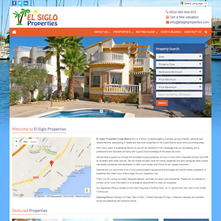 El Siglo Properties Costa Blanca Spain