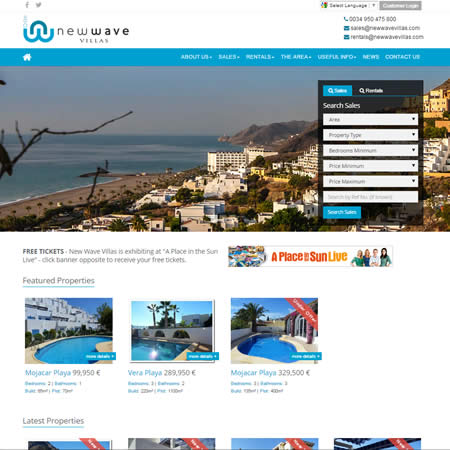 New Wave Villas Mojacar Almeria Spain
