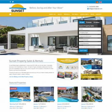 Sunset Property Sales & Rentals Javea Costa Blanca Alicante Spain