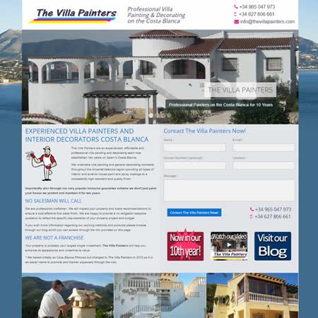 The Villa Painters Calpe Costa Blanca Alicante Spain