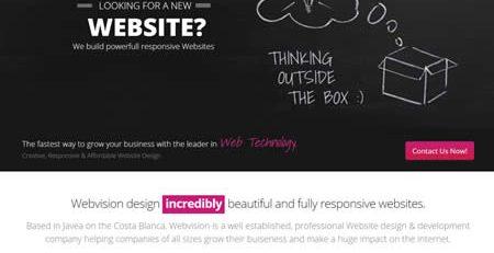 Webvision Website Design & Development Javea Costa Blanca