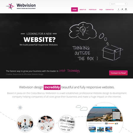 Webvision Website Design & Development Javea Costa Blanca