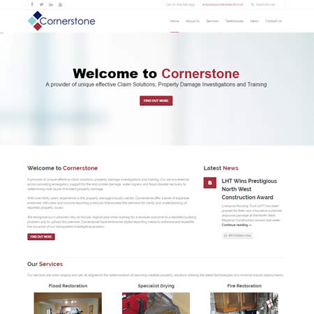 Cornerstone - A provider of unique effective claim solutions, property damage investigations and training