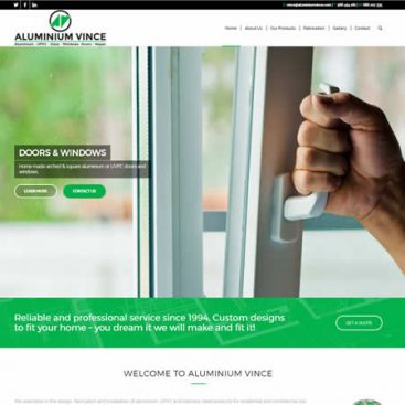 Aluminium Vince Website