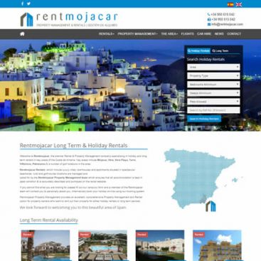 Rent Mojacar Website